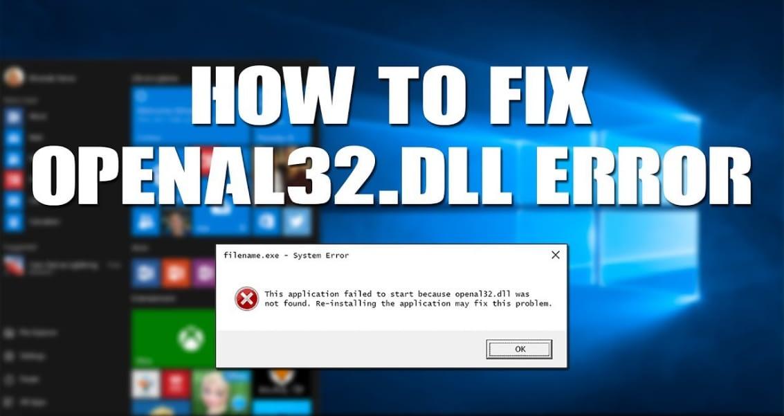 openal32 error